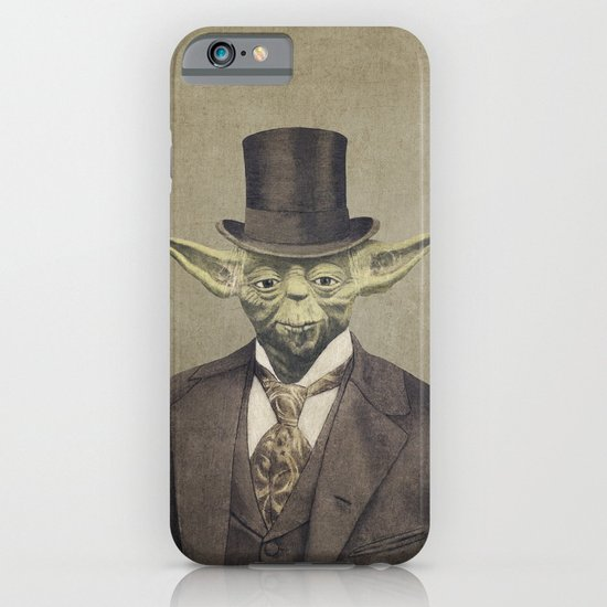 Sir Yodington  - square format iPhone & iPod Case