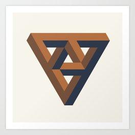 Triangulate Art Print