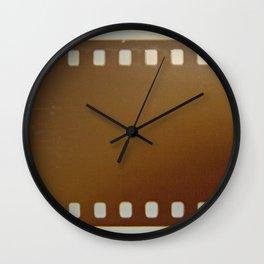 Film roll color Wall Clock