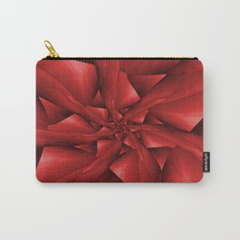 Red Spiral Arms Carry-All Pouch