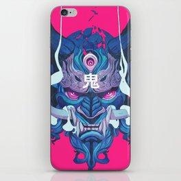 Oni Mask 01 iPhone Skin