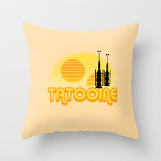 Serene Tatooine Throw Pillow
