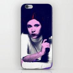 Princess Leia Pop Art iPhone & iPod Skin