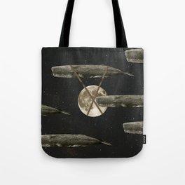 Spacewhales Tote Bag