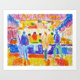 La Boqueria I Art Print