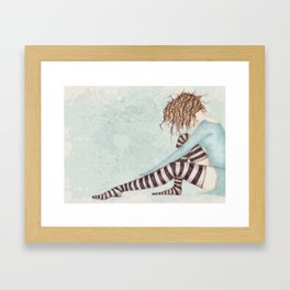 Sock Dreams Framed Art Print