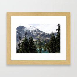 Joffree in Canadas Mountains Framed Art Print