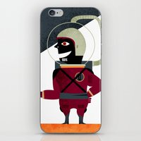 spaceman iPhone & iPod Skins featuring SPACEMAN by Eleonora