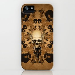 Awesome skull iPhone Case