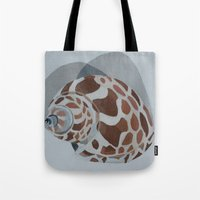 shells Tote Bags featuring Shells by Marjolein