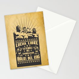 lucha libre Stationery Cards
