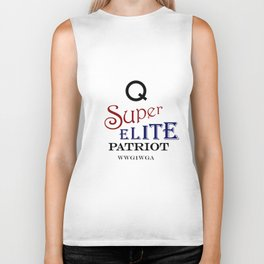 Q Super Elite WWG1WGA Patriot Biker Tank