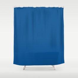 Trendy Basics - Trend Color LAPIS BLUE Shower Curtain