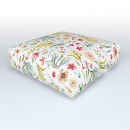 Wildflower Bunch Outdoor Floor Cushion
