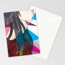 nube mente corazon Stationery Cards
