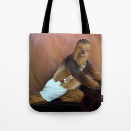 Chewbacca and the Timeless Art of Seduction Tote Bag