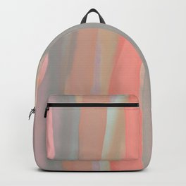 Peachy Watercolor Backpack