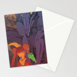 Stand Off Stationery Cards