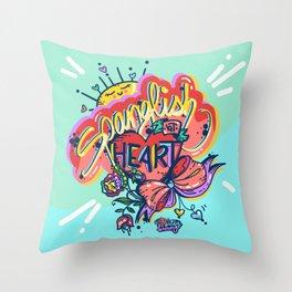 Spanglish Throw Pillow