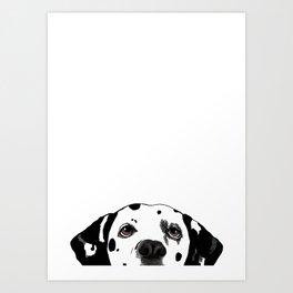 Dalmatian #1 Art Print
