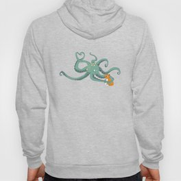 Octopus Loves Kitty Hoody