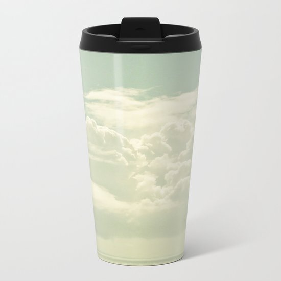As the Clouds Gathered Metal Travel Mug