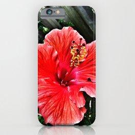 Habiscus iPhone Case