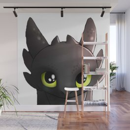 Toothless Night Fury  Wall Mural