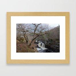 Rogie Falls, Near Inverness, Scotland - Scottish Landscape Framed Art Print