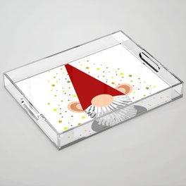 Santa - Gnome Acrylic Tray