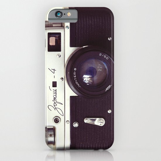 Zorki vintage camera iPhone & iPod Case