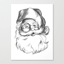 Jolly St. Nick Canvas Print