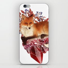 Red Fox and Ruby iPhone Skin