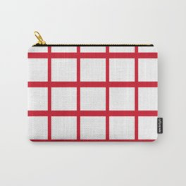 Abstraction from the Flag of england Carry-All Pouch