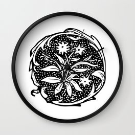 My Flower Relic Wall Clock