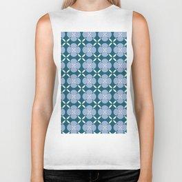 Geometric art pattern 3 Biker Tank