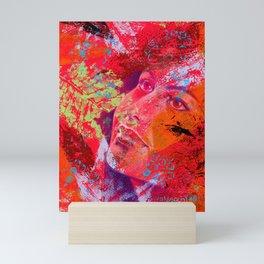 Il mio sangue è fuoco Mini Art Print