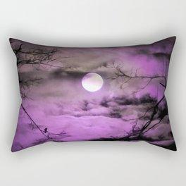 Deep Purple Rectangular Pillow