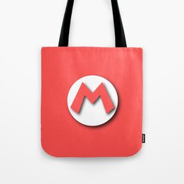 The Emblem of the Plumber, Mario Tote Bag