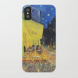 Café Terrace at Night by Vincent van Gogh iPhone Case