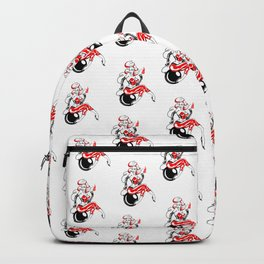 Pin up girl bomb rockabilly Mad Twins Backpack