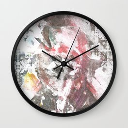 Abstract Portrait Wall Clock