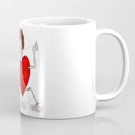 Floss and the heart Coffee Mug