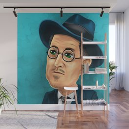 James Joyce Wall Mural