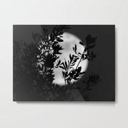 Moon Garden Metal Print