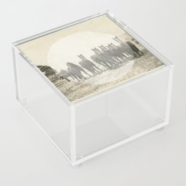 Band of Horses - White Acrylic Box