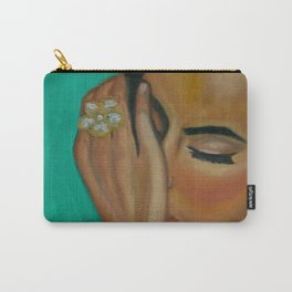 Anita - Golden Woman Carry-All Pouch
