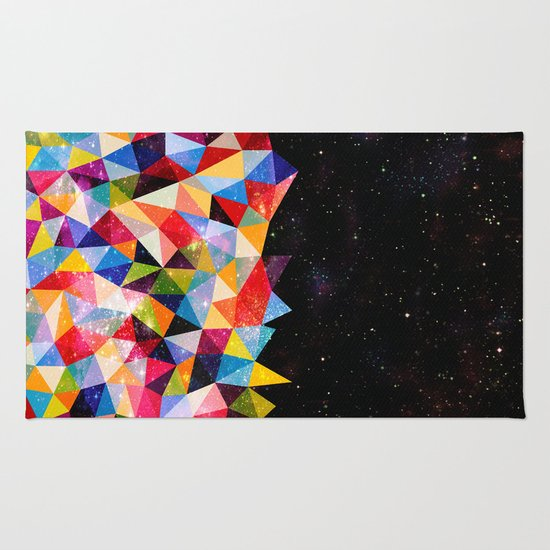 Space Shapes Rug