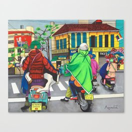 Vietnamese Gangsta Canvas Print