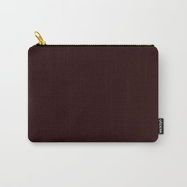 Delirious Place ~ Dark Red-brown Carry-All Pouch